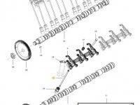 Штанга толкателя клапана двигателя трактора Massey Ferguson — 837084417