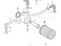 Масляный фильтр двигателя Sisu Diesel трактора Massey Ferguson — 837084450