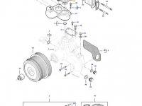 Термостат двигателя трактора Massey Ferguson — 837084949