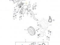 Термостат двигателя трактора Challenger — 837084949