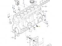 Форсунка охлаждения поршня двигателя трактора Massey Ferguson — 837084973