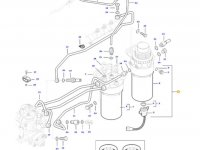 Топливоподкачивающий насос двигателя трактора Massey Ferguson — 837086172