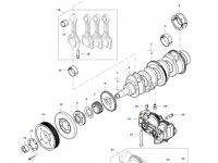 Поршень двигателя трактора Massey Ferguson — 837086209