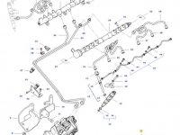 Топливный насос высокого давления (ТНВД) трактора Challenger — 837086246