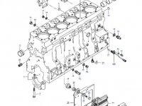 Вкладыши распредвала двигателя трактора Challenger — 837086315