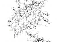 Блок двигателя трактора Challenger — 837086411