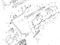 Топливная трубка двигателя трактора Challenger — 837088280