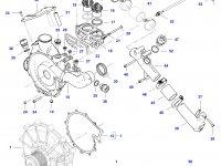 Шкив водяного насоса двигателя трактора Challenger — 837088295