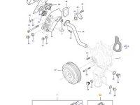 Ремкомплект водяного насоса трактора Challenger — 837091166