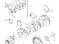 Комплект шатунов двигателя трактора Challenger — 837091171