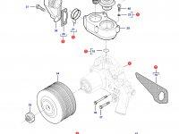 Охлаждающий(водяной) насос двигателя трактора Challenger — 837091197