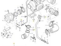Турбокомпрессор двигателя трактора Challenger — 837091236