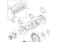 Вкладыши шатунные двигателя трактора Challenger — 837091533