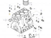 Датчик давления масла в двигателе трактора Massey Ferguson — 887283760
