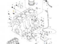 Датчик давления масла в двигателе трактора Valtra — 887283760
