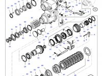 Подшипник реверса КПП трактора Massey Ferguson — LA1107