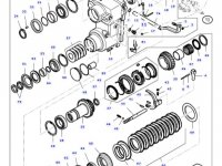Подшипник реверса КПП трактора Massey Ferguson — LA1203