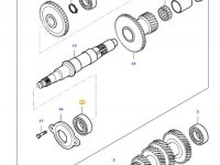 Подшипник вала полного привода КПП трактора Massey Ferguson — LA1296