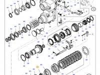 Подшипник реверса КПП трактора Massey Ferguson — LA5015