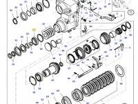 Подшипник реверса КПП трактора Massey Ferguson — LA5313