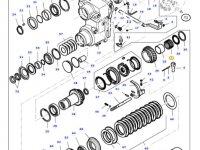 Игольчатый подшипник реверса КПП трактора Massey Ferguson — LA9203