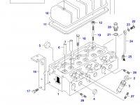 Прокладка ГБЦ двигателя Sisu Diesel — 836122443