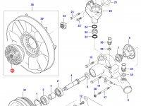 Вискомуфта вентилятора радиатора двигателя Sisu Diesel — 836762433