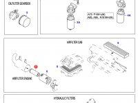 Воздушный фильтр двигателя Sisu Diesel (малый) — 836462569