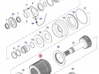 Диск фрикционный КПП муфта 4WD — 32773200
