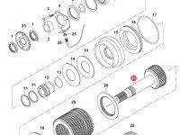 Вал муфты полного привода — 35150620