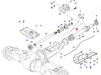 Карданный вал трактора L=886 — 34354910